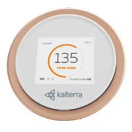 Kaiterra Laser Egg+ Air Quality Indicator (Wi-Fi Connectivity, LE001201A, White)_1