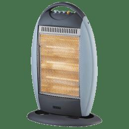 Usha 1200 Watts Halogen Room Heater (Automatic Oscillation, HH3503H, Grey)_1