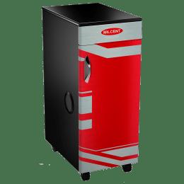 Milcent Five Star Super VC 210 Flour Mill Machine (Inbuilt Vaccum Cleaner, Saffron)_1