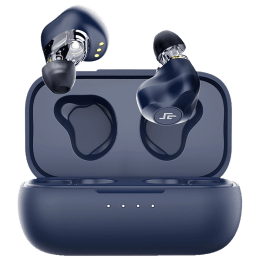 Crossbeats Evolve In-Ear Wireless Earbuds (Bluetooth, Voice Assistant, CB-EVOLVE-BLK, Blue)_1