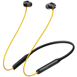 Realme Buds Wireless Pro In-Ear Active Noise Cancellation Wireless Earphone with Mic (Bluetooth 5.0, Fast Charging Capability, Party Yellow)_1