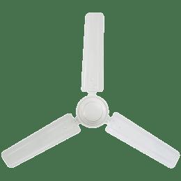 Usha Swift 120cm Sweep 3 Blade Ceiling Fan (350 RPM Motor Speed, 111148511W, Rich White)_1