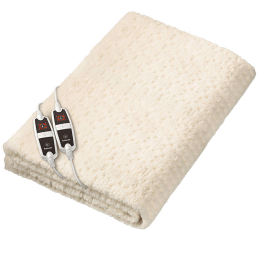 Beurer UB 56 Teddy Double Fabric Heated Underblanket (Beurer Safety System, 31902, White)_1