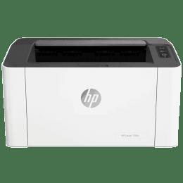 HP Laser 108w Wireless Black & White Laserjet Printer (Mobile Printing Capability, 4ZB80A, White)_1