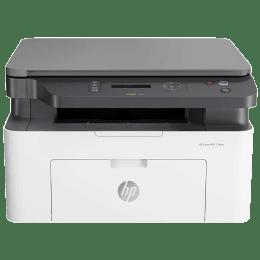 HP Laser 136nw Wireless Black & White Multi-Function Laserjet Printer (Mobile Printing Capability, 4ZB87A, White)_1