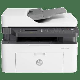HP Laser 138fnw Wireless Black & White Multi-Function Laserjet Printer (Mobile Printing Capability, 4ZB91A, White)_1