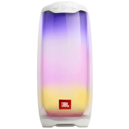 JBL Pulse 4 20 Watts Portable Bluetooth Speaker (360 Degree LED Lightshow, JBLPULSE4WHT, White)_1