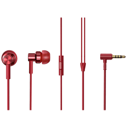 Xiaomi Redmi In-Ear Wired Earphone with Mic (In-Built HD Microphone, BHR4206IN, Red)_1