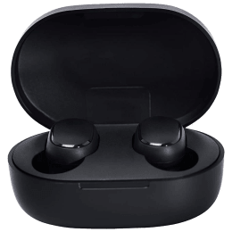 Xiaomi Redmi 2C In-Ear Passive Noise Cancellation Truly Wireless Earbuds with Mic (Bluetooth 5.0, Supports Voice Assistant, BHR4637IN, Black)_1