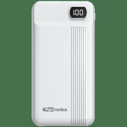 Portronics Indo 20D 20000 mAh Power Bank (POR 295, White)_1