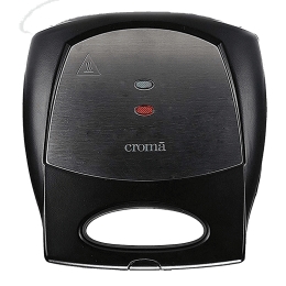 Croma 800 Watt 4 Slice Sandwich Maker (CRK7002, Black)_1