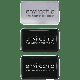 Environics Envirochip Anti Radiation Chip for Mobile (Pack of 3, 109CMTP, Black/Silver)_1