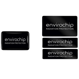 Environics Envirochip Anti Radiation Chip for Mobile and Laptop (Pack of 2, 112CLTP, Black)_1