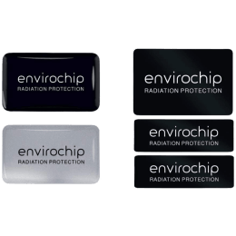 Environics Envirochip Anti Radiation Chip for Mobile and Laptop (Pack of 3, 117CLTP, Black/Silver)_1