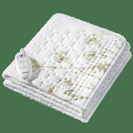 Beurer UB 33 Cotton Heated Underblanket (Beurer Safety System, 31400, White)_1