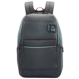 Skybags Yolo 25 Litres Polyester Backpack for 15.6 Inch Laptop (Non-Detachable Ergonomic Strap, LPBPYLOGRY, Grey)_1