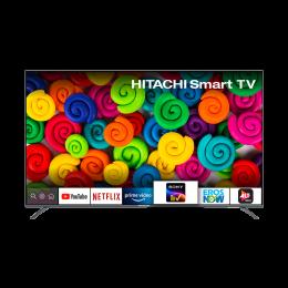 Hitachi 140 Cm (55 Inch) 4K Ultra HD LED Smart TV (LD55VRS01U, Black)_1