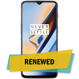Blynk Refurbished OnePlus 6T (Mirror Black, 128 GB, 6 GB RAM)_1
