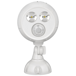 Mr. Beams Electric Powered 400 Lumens Wireless Motion Sensor Spot Light (MB380, White)_1