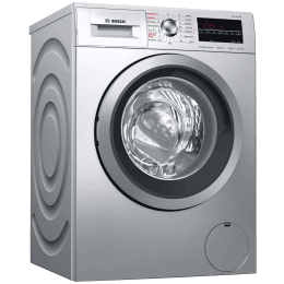Bosch Serie 6 8 kg/5kg Fully Automatic Front Load Washer Dryer Combo (Reload Function, WVG3046SIN, Silver)_1