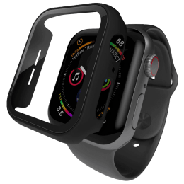 Hyphen Screen Guard For Apple Watch Series SE/4/5/6 (HAW-BL407336, Black)_1