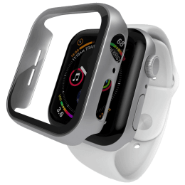 Hyphen Screen Guard For Apple Watch Series SE/4/5/6 (HAW-SL408776, Silver)_1