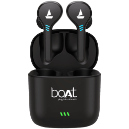 Boat Airdopes 433 In-Ear Truly Wireless Earbuds with Mic (Bluetooth 5.0, Inline Remote, Black)_1