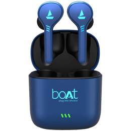 Boat Airdopes 433 In-Ear Truly Wireless Earbuds with Mic (Bluetooth 5.0, Inline Remote, Blue)_1