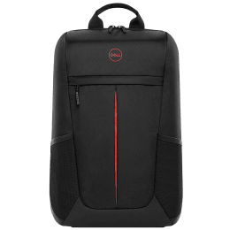 Dell Gaming Lite Nylon Backpack for 17 Inch Laptop (Lightweight and Comfortable, 460-BCZI, Black with Red Accents)_1