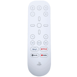 Sony Media Remote For Playstation 5 (Dedicated App Buttons, CFI-ZMR1BX/R, White)_1