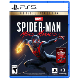 Sony Marvel's Spider-Man: Miles Morales For PS5 (Action-Adventure Games, Ultimate Edition, PPSA-01341)_1