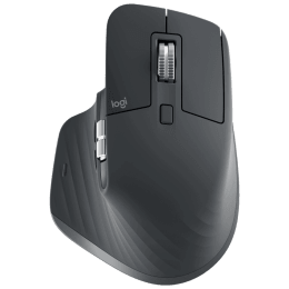 Logitech MX Master 3 Bluetooth and USB Laser Mouse (Sensor Technology, 910-005698, Graphite)_1