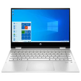 HP Pavilion x360 14-dw1040TU (2R2H7PA#ACJ) Core i7 11th Gen Windows 10 Home 2-in-1 Laptop (8GB RAM, 512GB SSD, Intel Iris Xe Graphics, MS Office, 35.56cm, Natural Silver)_1