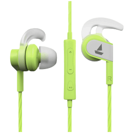 Boat BassHeads 242 In-Ear Wired Earphone with Mic (HD Inspirational Sound, Spirit Lime)_1