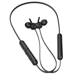 Philips In-Ear Wireless Earphone with Mic (Passive Noise Isolation, TAE1205BK/00, Black)_1