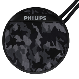 Philips 2000 Series 3 Watts Portable Bluetooth Speaker (Stereo Sound, BT2003GY/94, Grey)_1