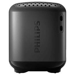 Philips 1000 Series 2.5 Watts Portable Bluetooth Speaker (IPX7 Waterproof, TAS1505B/94, Black)_1