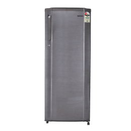 Croma 225 Litres 2 Star Direct Cool Single Door Refrigerator (Humidity Control, CRAR0214, Brushline Silver)_1