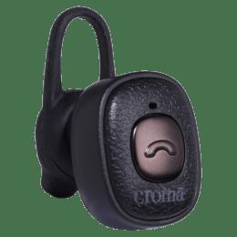 Croma In-Ear Mono Bluetooth Headset (CRCA2304, Black)_1