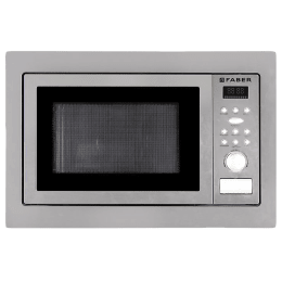 Faber 25 Litres Built-in Microwave Oven (10 Auto Cook Menus, FBI MWO 25L CGS BK, Stainless Steel)_1