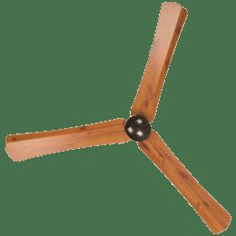 Atomberg Renesa Smart Plus 120cm Sweep 3 Blade Ceiling Fan (Remote Control, RSFP31200RG, Golden Oakwood)_1