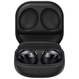 Samsung Galaxy Buds Pro In-Ear Truly Wireless Earbuds with Mic (Bluetooth 5.0, Bixby Supported, SM-R190NZKAINU, Phantom Black)_1