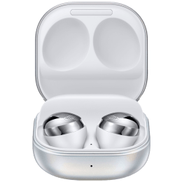Samsung Galaxy Buds Pro In-Ear Truly Wireless Earbuds with Mic (Bluetooth 5.0, Bixby Supported, SM-R190NZSAINU, Phantom Silver)_1