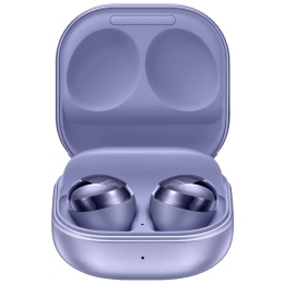 Samsung Galaxy Buds Pro In-Ear Truly Wireless Earbuds with Mic (Bluetooth 5.0, Bixby Supported, SM-R190NZVAINU, Phantom Violet)_1