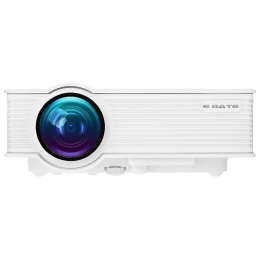 Egate 304.80 cm LED HD Projector (EG I9, White)_1