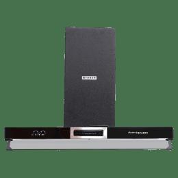 Faber 3N1 Aerostation Sparkle Pro 3D ABTC 90 1095 m³/hr 90cm Wall Mount Chimney (Premium Touch Control, 325.0600.588, Black)_1