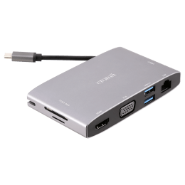Croma 8-in-1 Multiport Charging Hub (CRCP1008, Grey)_1