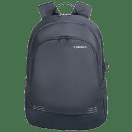 Tucano Forte 27 Litres Nylon Backpack for 14 Inch Laptop and 15 Inch MacBook (Adjustable Shoulder Straps, BKFOR14-B, Blue)_1