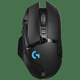 Logitech G502 Lightspeed Wireless Mouse (Lightsync RGB Lighting, 910-005569, Black)_1