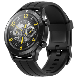 Realme Watch S Pro Smart Watch (GPS, 35mm) (AIoT Control, RMA186, Black, Silicone Strap)_1